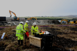 DBN planting the Corrib Pipeline
